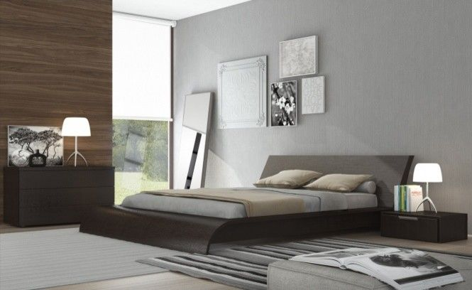Calking for a Contemporary Spaces with a Contemporary Bed and Waverly Bed by ModLoft | Supplied by Rove Concepts by Rove Concepts