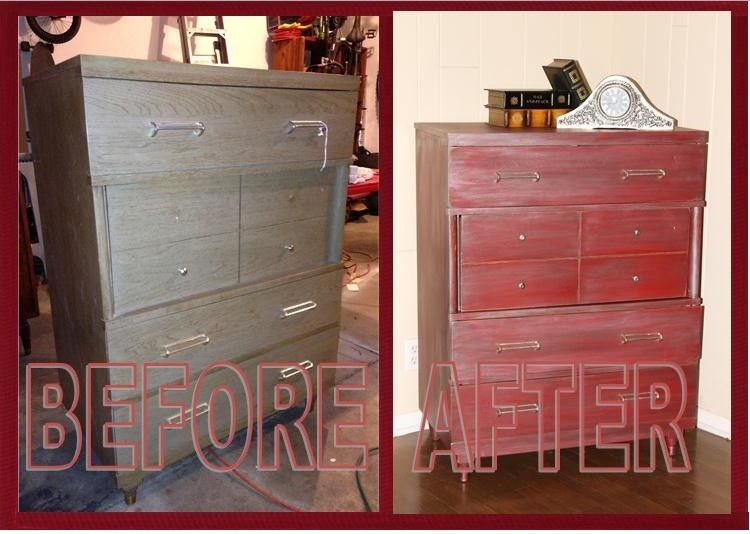 Calking for a Eclectic Bedroom with a Dresser and Upcycling by Invio Fine Furniture Consignment