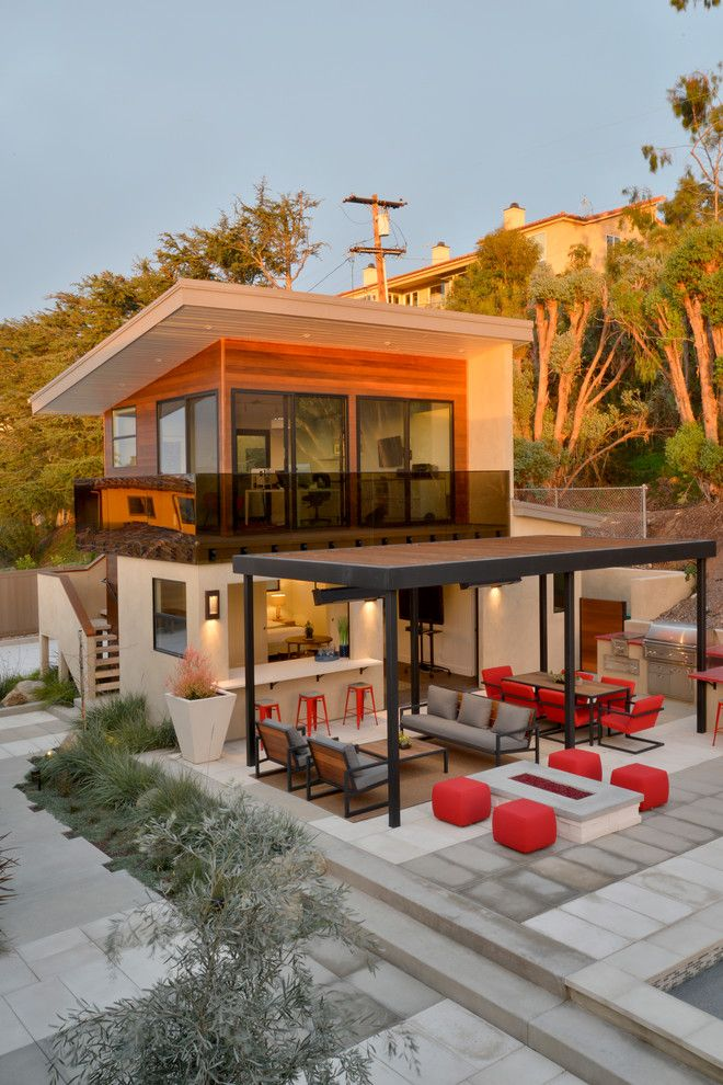 Camp Lejeune Housing for a Contemporary Exterior with a Outdoor Dining and Muirlands Modern by Hauck Architecture