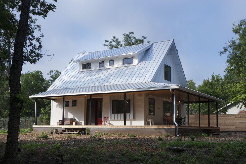 Camp Lejeune Housing for a Farmhouse Exterior with a Porch and Farmhouse Porch by Rauser Design