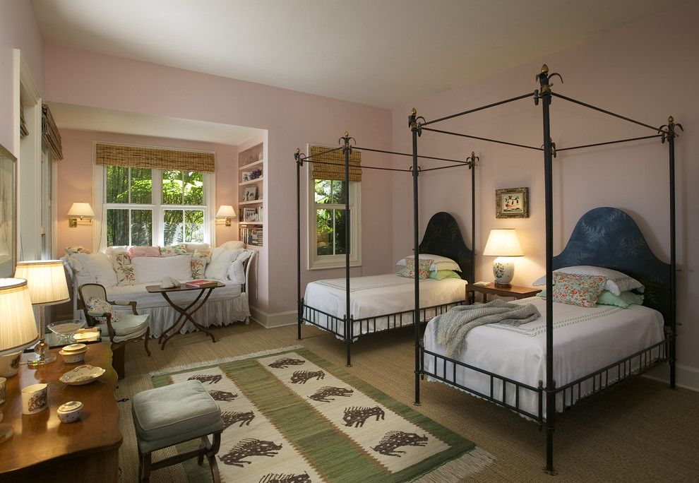 Canpo for a Eclectic Bedroom with a Baseboards and Bedroom by Tom Meaney Architect, Aia