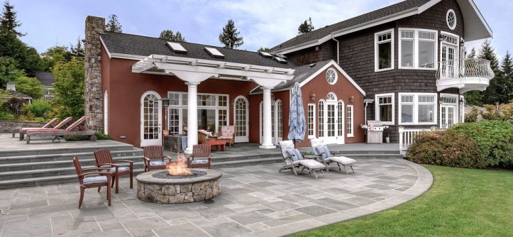 Carls Patio for a Beach Style Exterior with a Outdoor Heater and Before and Afters by Eric Gedney | ARCHITECT