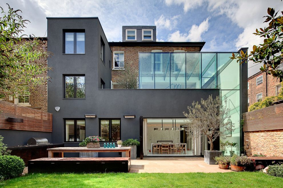 Carls Patio for a Contemporary Exterior with a Bifold Doors and Dosarchitecs by Carlo Carossio