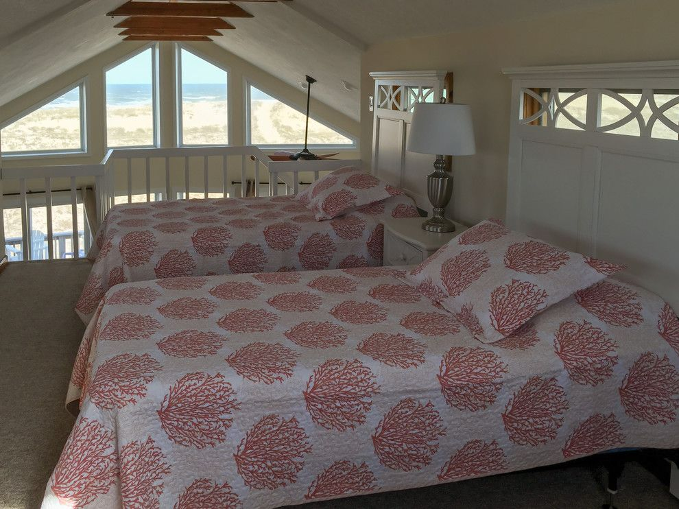 Carova Beach for a Beach Style Spaces with a Coastal Home and Carova (North Corolla)   Beach Cottage Design by Amy Hilliker Klebitz   Certified Interior Designer