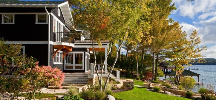 Carpetland Usa for a Traditional Landscape with a Lawn and Brauner Residence by Phinney Design Group