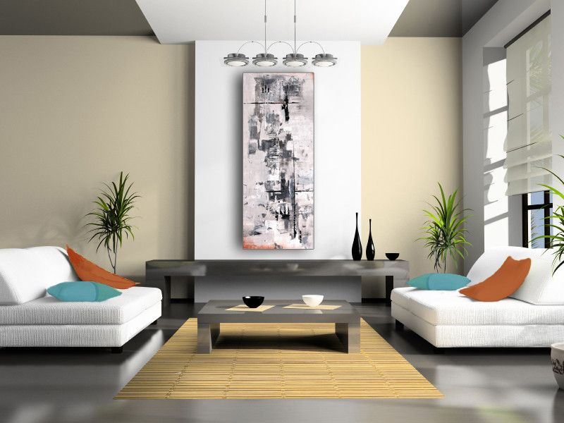 Casa Tua Miami for a Contemporary Living Room with a Contemporary Living Room and Canvas by Casa Art Studio
