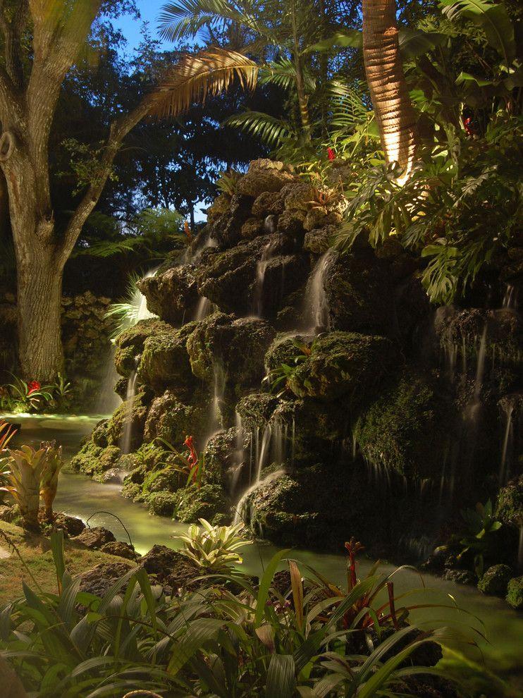 Casa Tua Miami for a Tropical Landscape with a Residential and La Casa De Korge by Savino Miller Design Studio