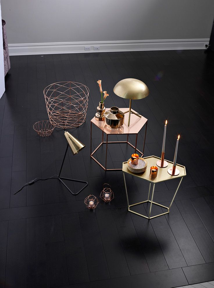 Castle Metals for a Contemporary Living Room with a Contemporary and Bloomingville Home Décor by Bloomingdale's