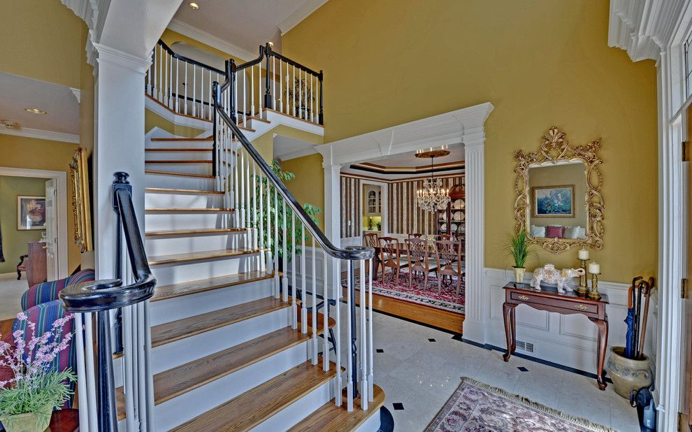 Castlewood Country Club for a Traditional Staircase with a Country Club and St. Marlo Golf & Country Club Custom Homes by Envision Web