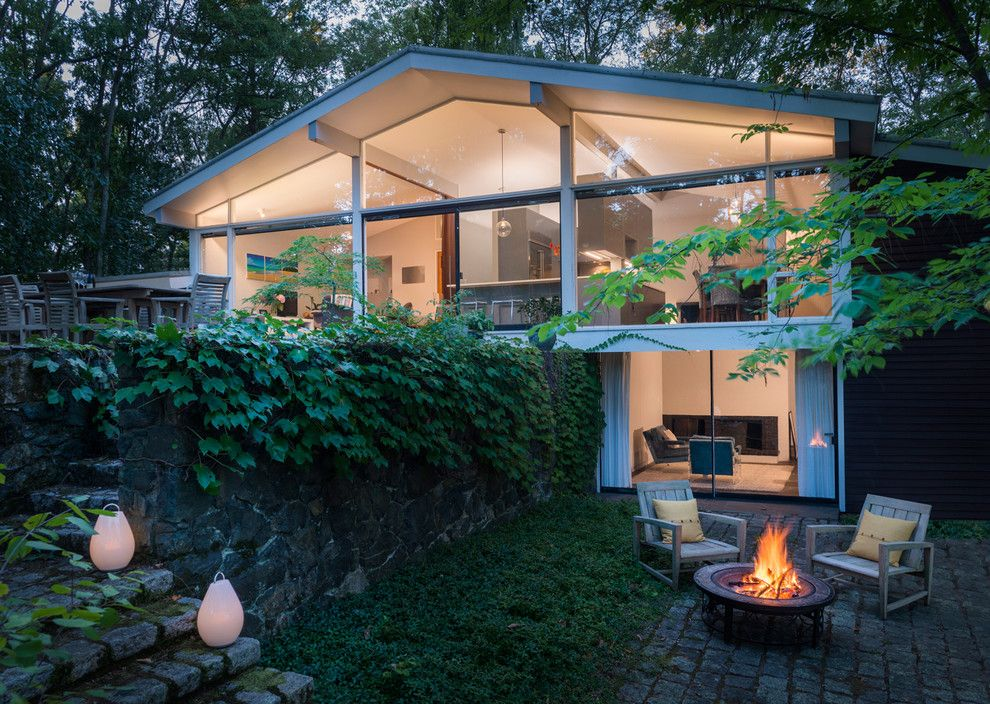 Century Walnut Creek for a Midcentury Exterior with a Ivy and Mid Century Remodel on Tabor Hill by Flavin Architects