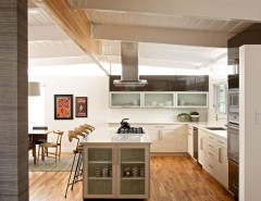 Century Walnut Creek for a Modern Kitchen with a Open Concept Kitchen and MID-CENTURY MODERN RESIDENCE by Swiss Milk Studio