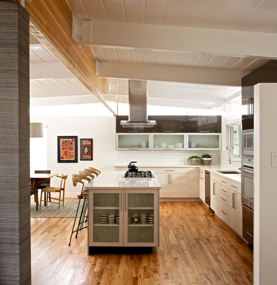 Open Concept Kitchen Cabinet Ideas: Century Walnut Creek For A Modern Kitchen With A Open
