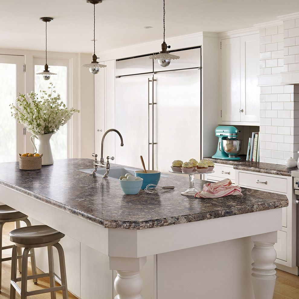 Charlie Wilson Appliance for a Contemporary Kitchen with a Contemporary and Wilsonart by Wilsonart