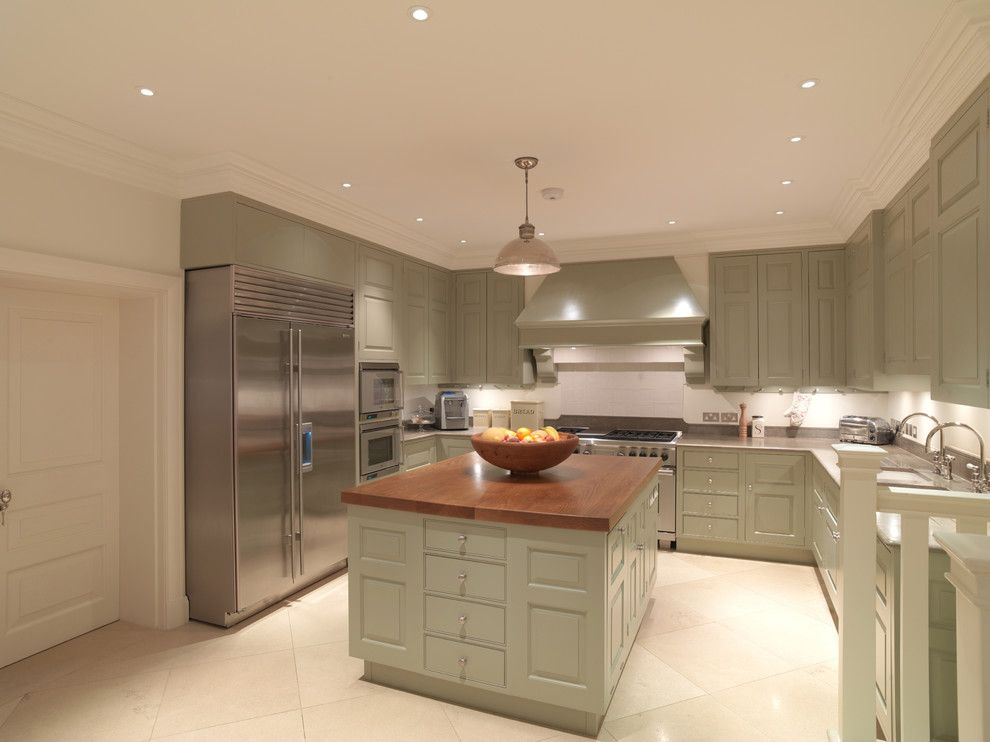 Charlie Wilson Appliance for a Contemporary Kitchen with a Gaggenau and Contemporary Kitchen by Timwood.com