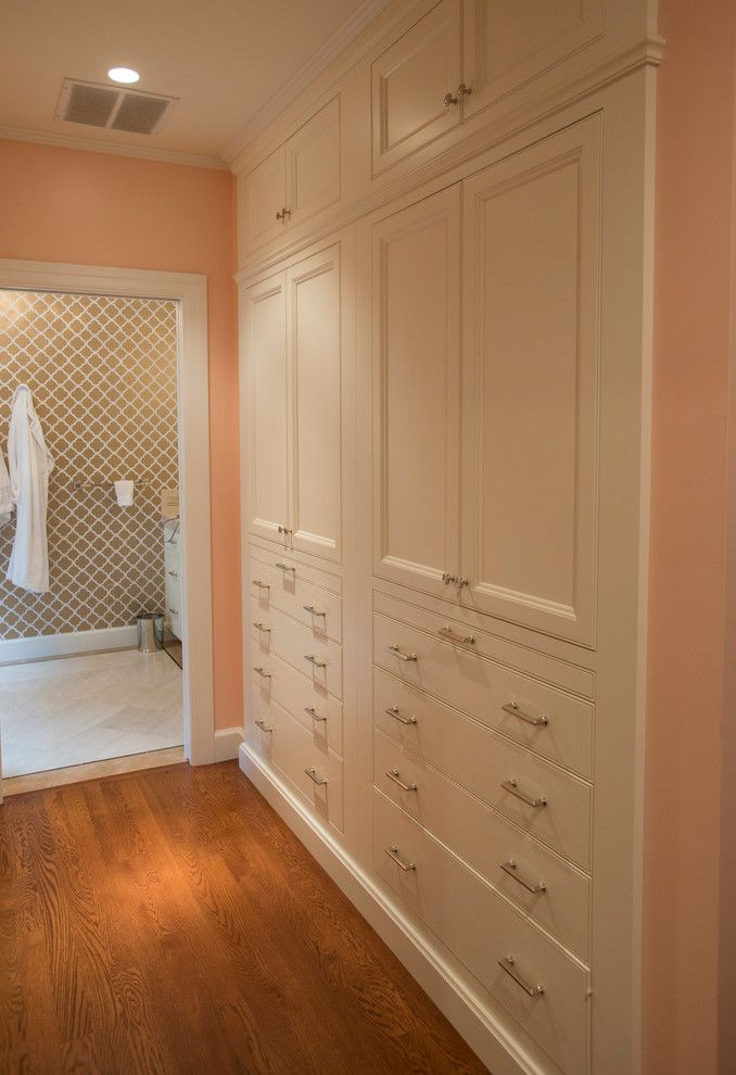 Chase Bank Boise for a Traditional Closet with a Bank of Drawers and Federal Style Residence by Gravitas