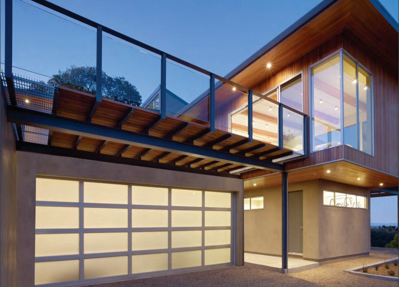Chi Overhead Doors for a Contemporary Exterior with a Contemporary and Our Portfolio by Overhead Door Company of Albany