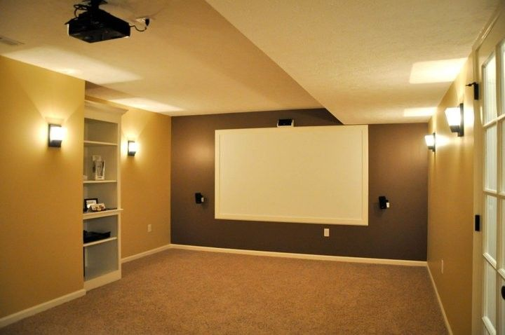 Cincinnati Theater for a  Home Theater with a  and Audio/visual Installation by Keystone Homes in Troy