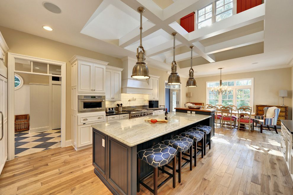 Cincinnatian Hotel for a Beach Style Kitchen with a Pendant Lamps and Kitchen by Echelon Custom Homes