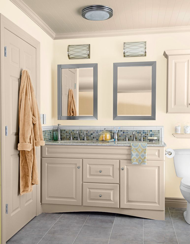Cincinnatian Hotel for a Transitional Bathroom with a Cozy Living Room and Toast & Tea by Lowe's Home Improvement
