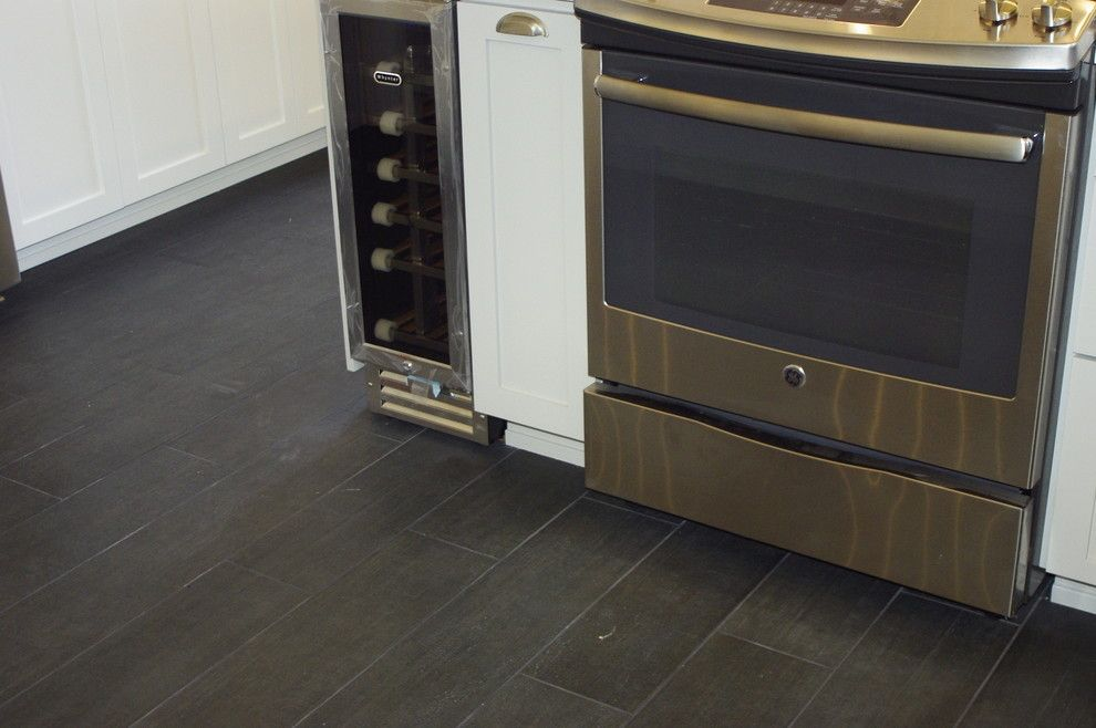 Clap Board for a Contemporary Kitchen with a Bead Board and North Park Kitchen by Mathis Custom Remodeling
