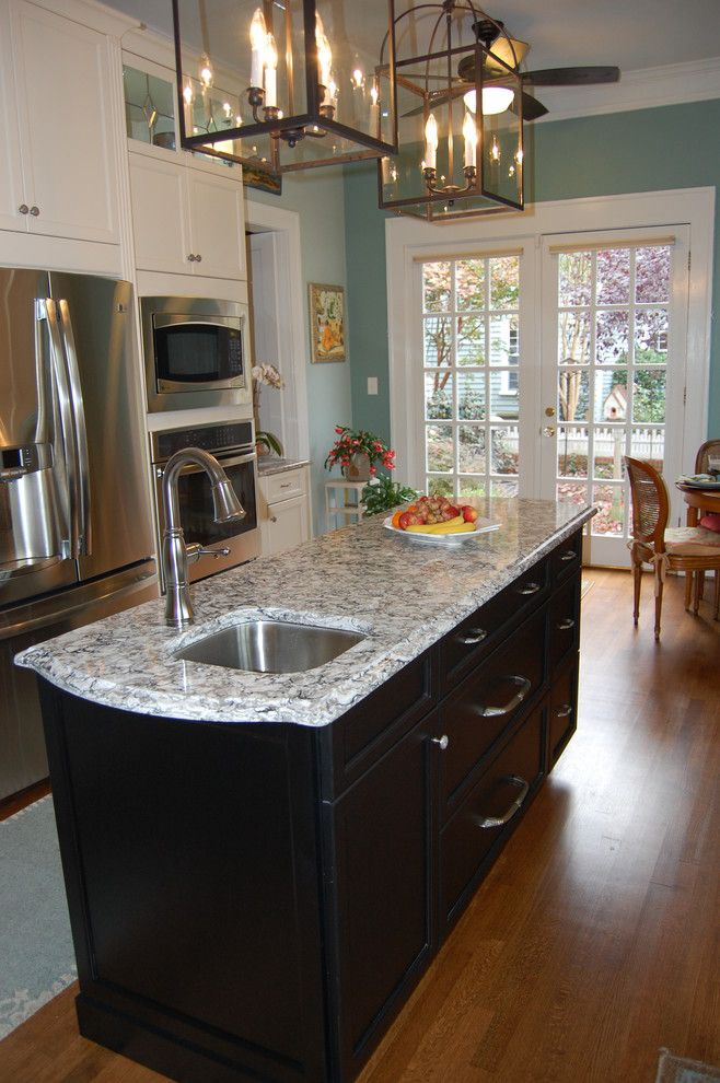 Clayton Appliance for a Transitional Kitchen with a Kitchen Hardware and Atchison Kitchen by Rima Nasser