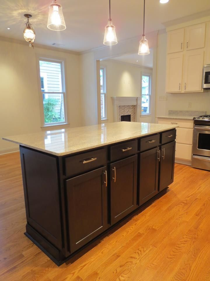 Clayton Appliance for a Transitional Kitchen with a Satin Nickel Hardware and Pro Stone Kitchens by Pro Stone Kitchen and Bath, Llc