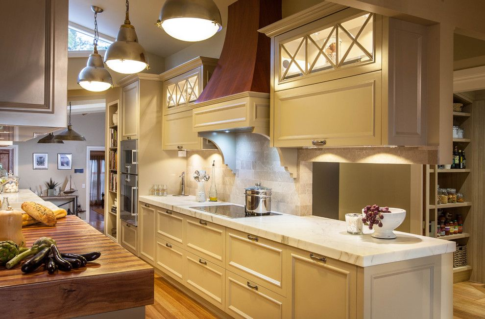 Coast Guard Emblem for a Traditional Kitchen with a Kitchen Design and Burleigh Heads Hampton Style Kitchen by Darren James Interiors