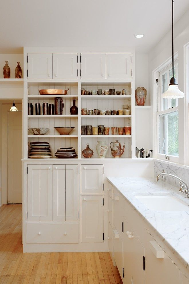 Coastal Kitchen Seattle for a Traditional Kitchen with a Custom Cabinetry and Capitol Hill Kitchen by Bellan Construction