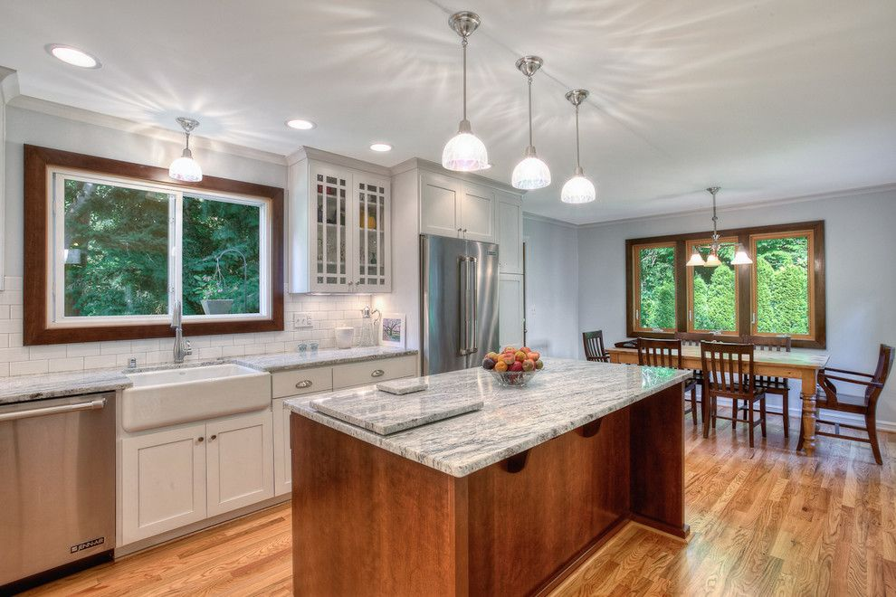 Coastal Kitchen Seattle for a Traditional Kitchen with a Windows and Pr 487 by Powell Custom Homes & Renovations