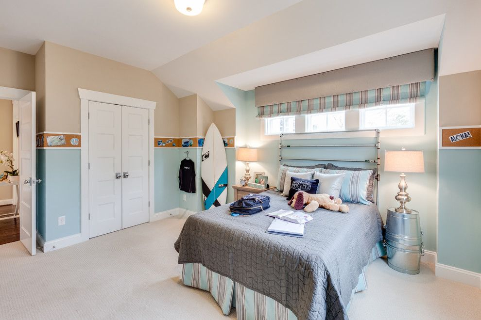 Coastal Virginia Magazine for a Beach Style Kids with a Baby Blue Walls and Coastal Virginia Idea House Holly Road by Stephen Alexander Homes & Neighborhoods