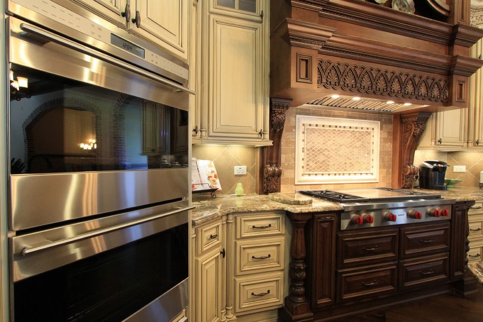 Cobb County Tractor for a Traditional Kitchen with a Luxury Mansion Style Homes and Luxury Custom Kitchen Design by Alex Custom Homes, Llc