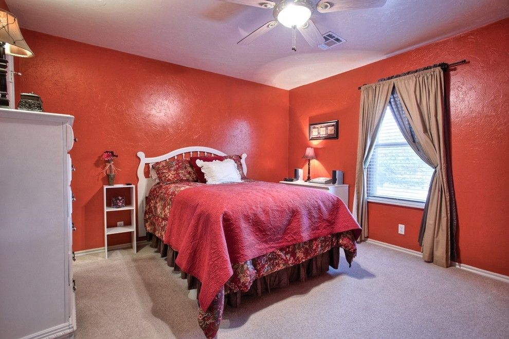 Cobblestone Realty for a Traditional Bedroom with a Oklahoma City and 12604 Flagstone Ct Nw Okla City   Wyatt Poindexter Kw Elite by Wyatt Poindexter of Keller Williams Elite