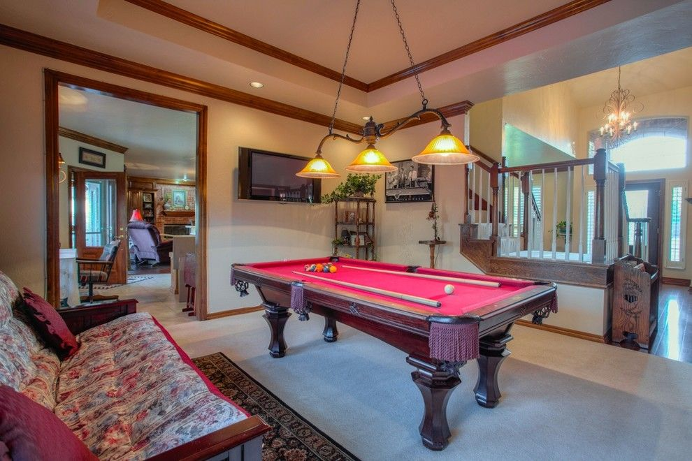 Cobblestone Realty for a Traditional Living Room with a Putnam City and 12604 Flagstone Ct Nw Okla City   Wyatt Poindexter Kw Elite by Wyatt Poindexter of Keller Williams Elite