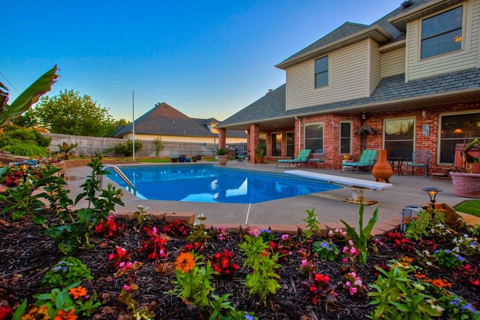 Cobblestone Realty for a Traditional Pool with a Edmond and 12604 Flagstone Ct Nw Okla City   Wyatt Poindexter Kw Elite by Wyatt Poindexter of Keller Williams Elite