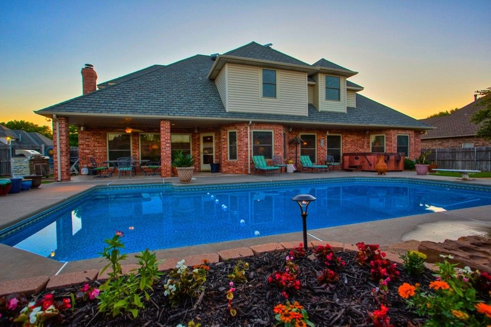 Cobblestone Realty for a Traditional Pool with a Okc and 12604 Flagstone Ct Nw Okla City   Wyatt Poindexter Kw Elite by Wyatt Poindexter of Keller Williams Elite