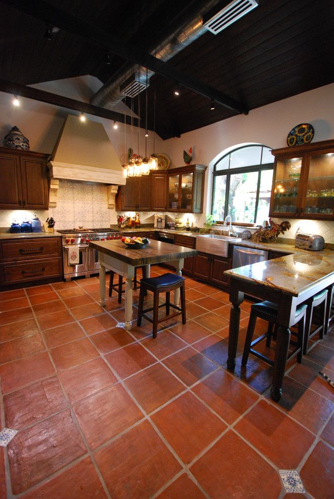 Coconut Grove Theater for a Rustic Kitchen with a Rustic Kitchen Miami and Coconut Grove Rustic Kitchen by Eleet Fine American Cabinetry