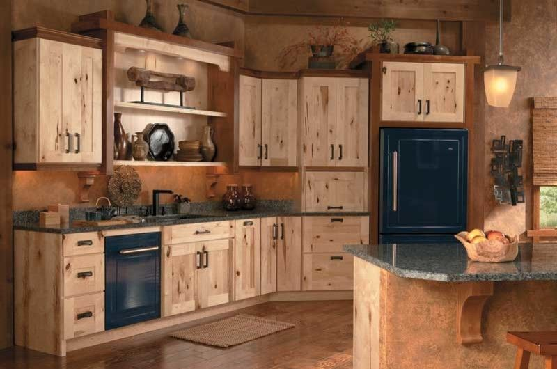 Coggin for a Craftsman Kitchen with a Rustic and Medallion Cabinets by Coggin Brothers, Inc.