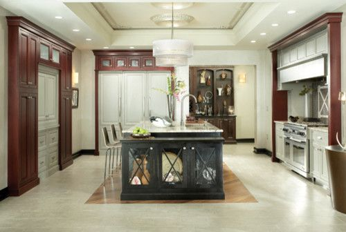 Coggin for a Transitional Kitchen with a Kitchen and Medallion Cabinets by Coggin Brothers, Inc.