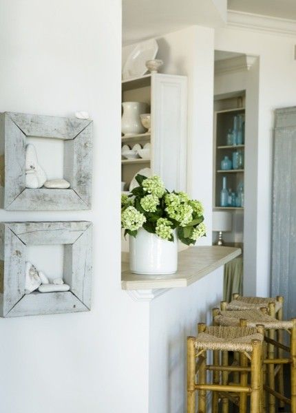 Colleton River Plantation for a Beach Style Kitchen with a Kitchen Peninsula and Kitchen by Liz Williams Interiors