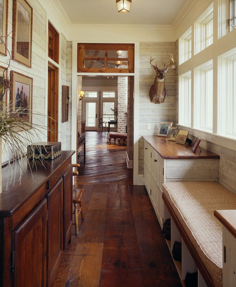 Colleton River Plantation for a Farmhouse Hall with a Mud Room and Lowcountry River House by Frederick + Frederick Architects