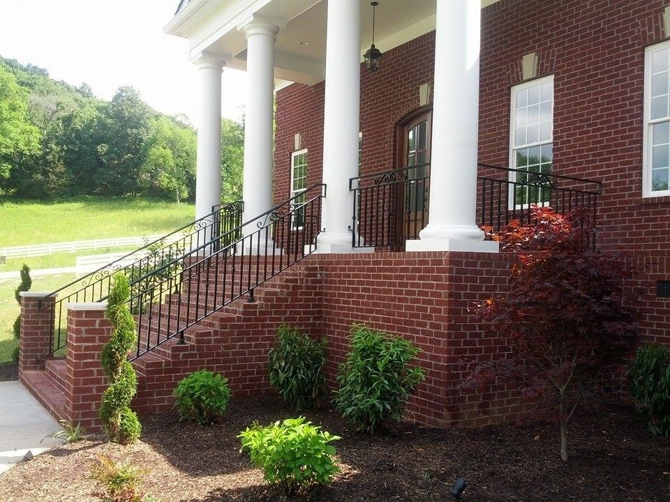 Colonial Parking Dc for a  Spaces with a  and Colonial Home by Dc's Welding and Ornamental Iron
