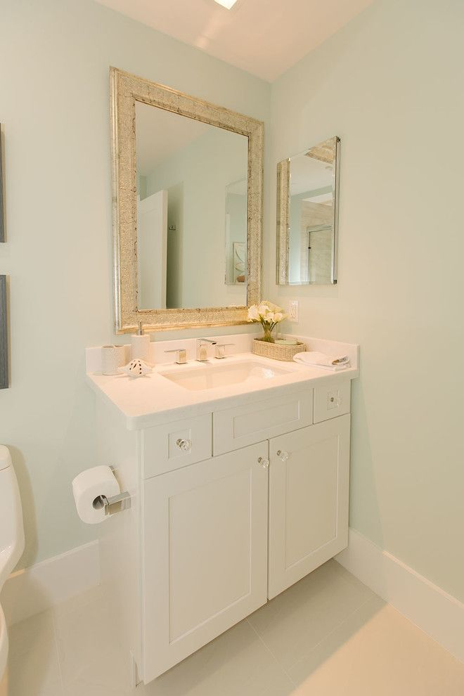 Colony Realty for a Beach Style Bathroom with a Custom Design and Bay Colony by One Ocean Drive Realty