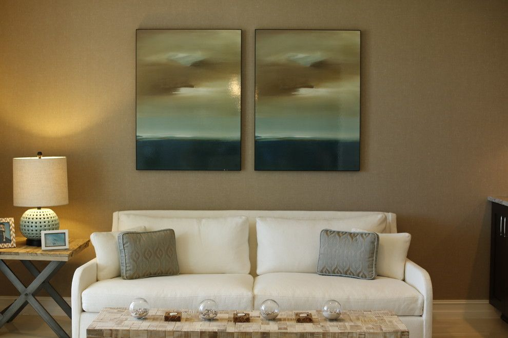Colony Realty for a Beach Style Living Room with a Boat and Bay Colony by One Ocean Drive Realty