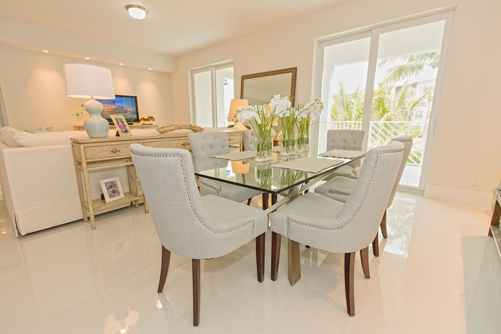 Colony Realty for a Modern Dining Room with a Modern Design and Bay Colony by One Ocean Drive Realty