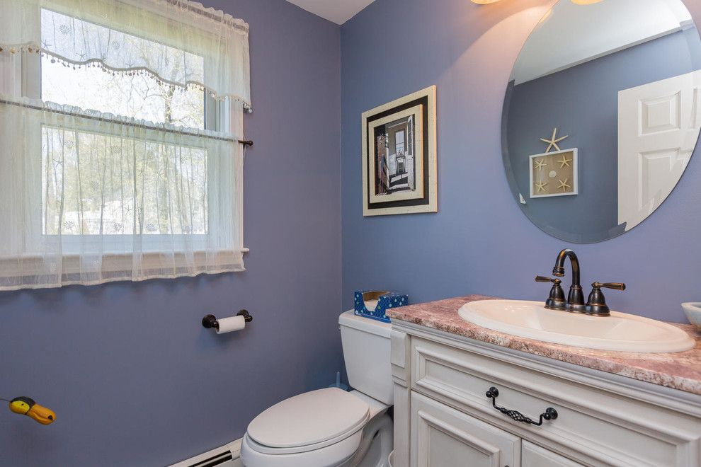 Colony Realty for a Traditional Bathroom with a Pleasant Hill and 1 Old Colony Lane, Scarborough, Maine by Corki Gray, Broker, Keller Williams Realty