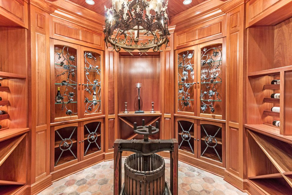 Comfort Suites Lake Geneva Wi for a Traditional Wine Cellar with a Lake House and Lakewood Estates Private Retreat, Lake Geneva Wi by Lowell Custom Homes