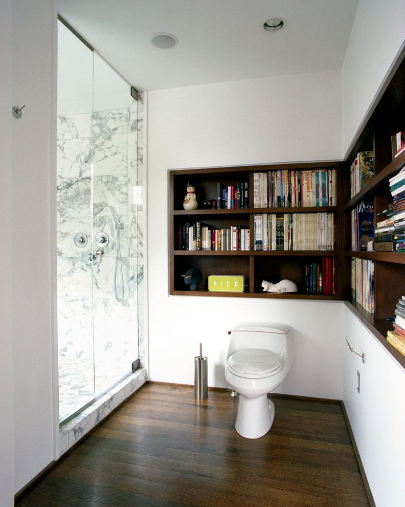 Commode Definition for a Contemporary Bathroom with a Modern and Guerin Residence by Stephen Chung, Architect