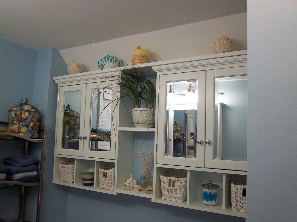 Congoleum for a Traditional Bathroom with a Bathroom Cabinets and Kohler Master Bathroom   Hamel by Lowe's of Auburn, Me