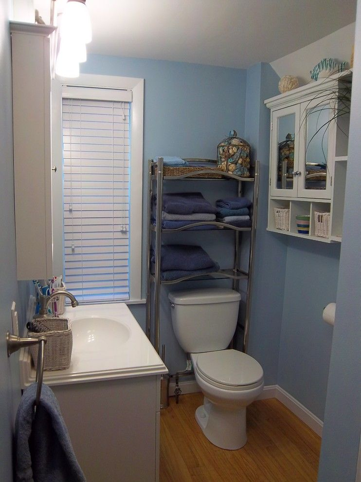 Congoleum for a Traditional Bathroom with a Blue and Kohler Master Bathroom   Hamel by Lowe's of Auburn, Me