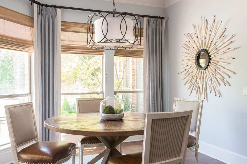 Connells Furniture for a  Kitchen with a Kitchen Breakfast Nook and Chic Contemporary Rustic Home by Traci Connell Interiors